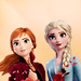 Elsa and Anna - elsa-the-snow-queen icon