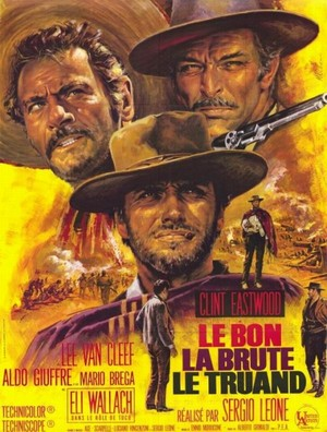 French poster for 'The Good the Bad and the Ugly'