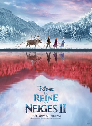 La Reine des Neiges 2 French Poster