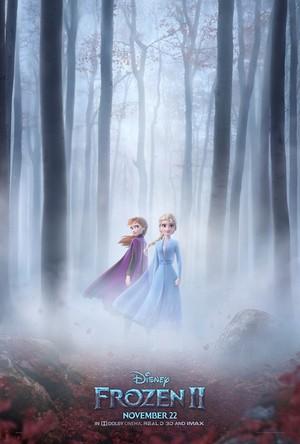 《冰雪奇缘》 2 poster