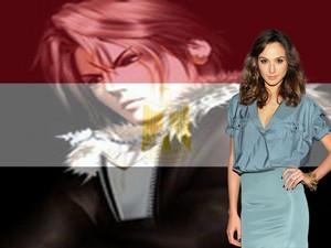 GAL GADOT LOVE EGYPT