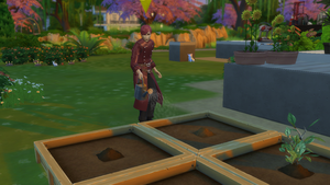 Gaara just Watering his plants