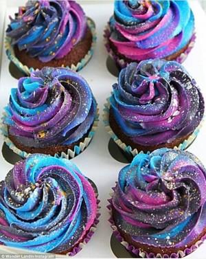 Galaxy 컵케익