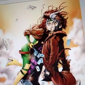 Gambit & Rogue - Kiss