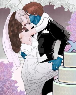 Gambit&Rogue wedding