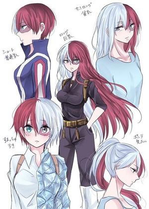 Genderbend Todoroki