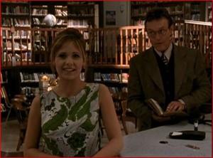 Giles and Buffy 5