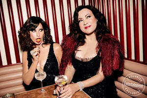 Gina Gershon and Jennifer Tilly - Entertainment Weekly Photoshoot - 2019