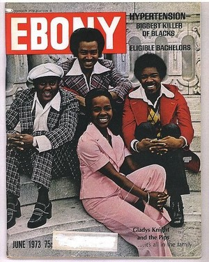 Gladys Knight And The Pips On The Cover Of Ebony