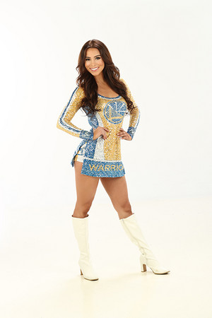 Golden State Warriors Dancers ~ Brianna