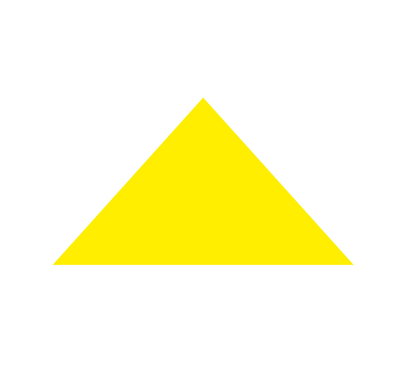 Golden Triangle, a Holy Trinity Symbol