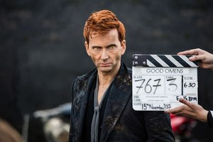Good Omens/David Tennant-bts