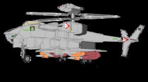 Gyrodyne VFH-10B Auroran AGAC w raket launcher x2