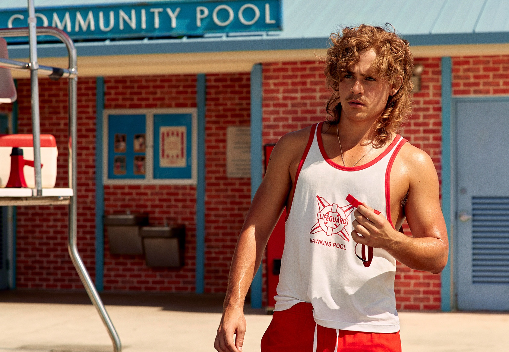 H&M's Stranger Things Collection - 2019 - Dacre Montgomery