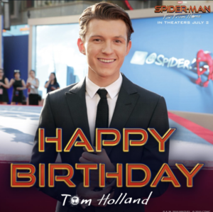 Happy Birthday Tom Holland -June 1, 1996