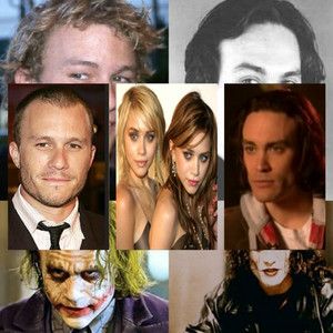 Heath, Brandon and the Olsen Twins