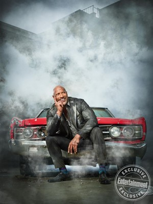 Hobbs and Shaw - Entertainment Weekly Photoshoot - 2019 - Dwayne Johnson