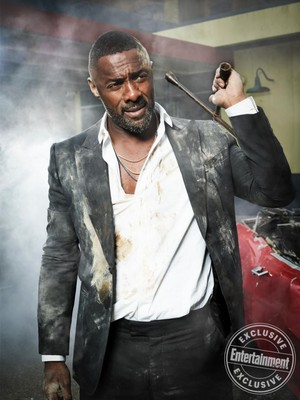Hobbs and Shaw - Entertainment Weekly Photoshoot - 2019 - Idris Elba