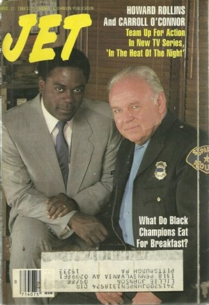 Howard Rollins And Carroll O'Connor On The Cover Of Jet