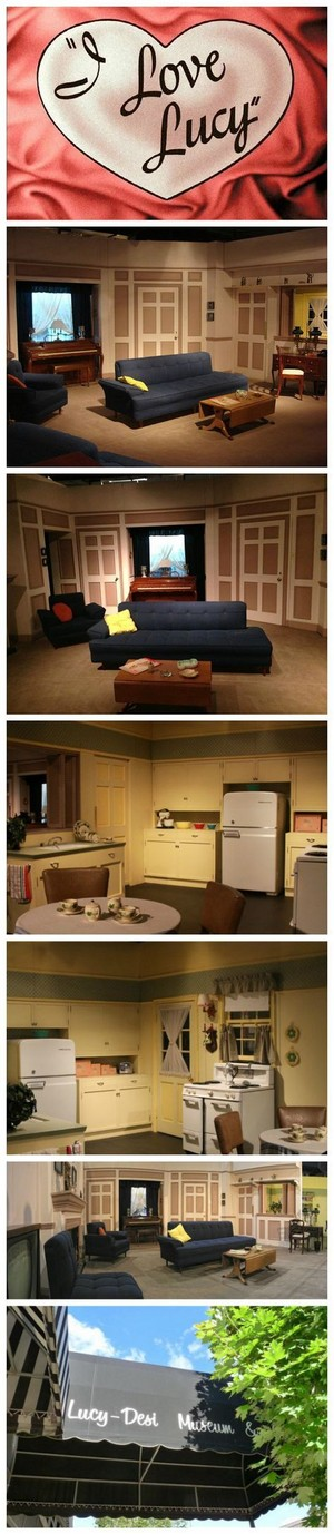 I Love Lucy Set/bts