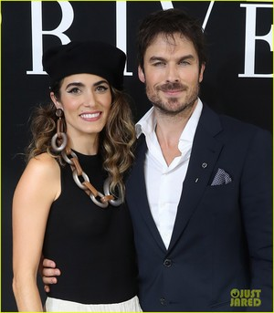 Ian Somerhalder and Nikki Reed at Armani onyesha in Paris!