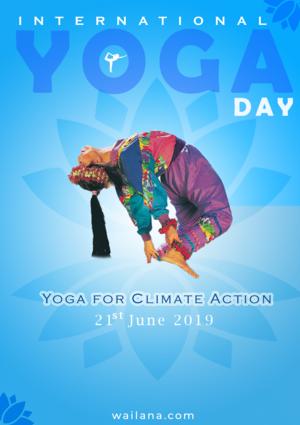 International Yoga दिन - 2019