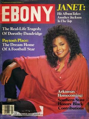 Janet Jackson On The Cover Of Ebony