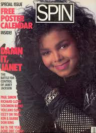 Janet Jackson On The Cover Of Spin