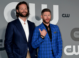 Jared Padalecki and Jensen Ackles May 16, 2019 The CW Network 2019 Upfronts – Red Carpet