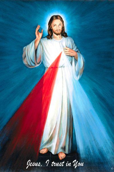 jesús Divine Mercy