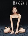 Jisoo for Harpers Bazaar Korea Magazine May 2019 Issue - black-pink photo