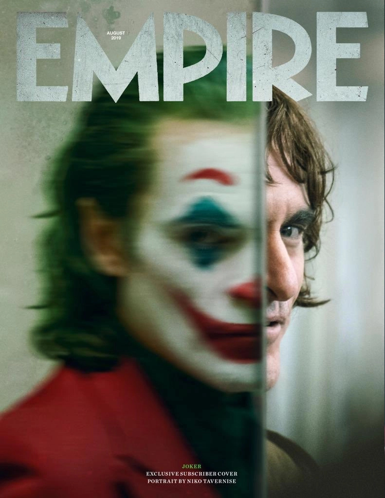 Joaquin Phoenix as The Joker - Empire Magazine Cover - August 2019