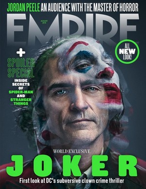 Joaquin Phoenix as the Joker ~ Empire Magazine