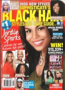 Jordin Sparks On The Cover Of Black Hair