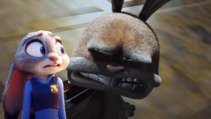 Judy Hopps' Reaction to Boingo from Hoodwinked