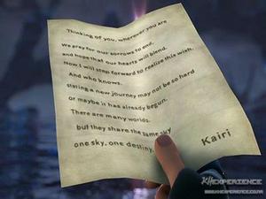 Kairi's Letter