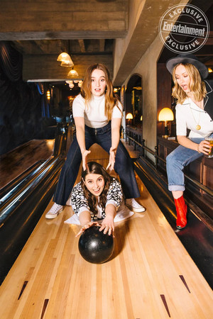 Kaitlyn Dever, Olivia Wilde and Beanie Feldstein - Entertainment Weekly Photoshoot - 2019