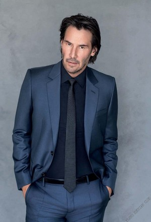 Keanu in Women's Health (2017)