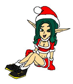 Keira Hagai Holiday 2001 PSM (PlayStation 2 Magazine)