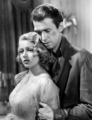Lana Turner and Jimmy Stewart
