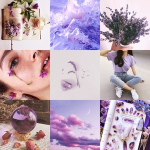 Lavender Witch Aesthetic