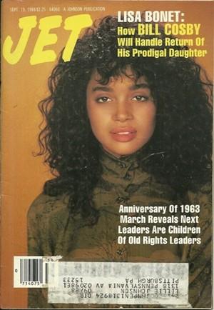 Lisa Bonet On The Cover Of Jet