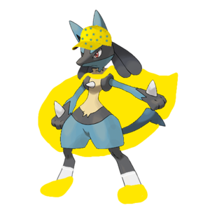 Lucario as a Wonder Pet