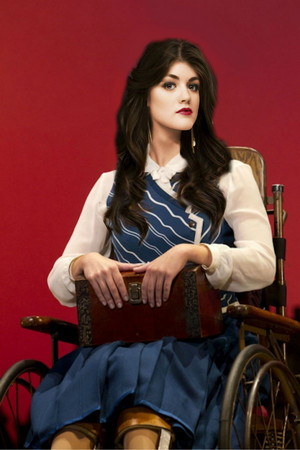 Lucy Hale as Nessarose (Movie Fancast)