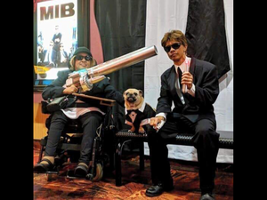 MIB Agents (with Frank?) at MIB International movie premiere!