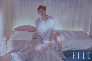 MONSTA X Wonho for ELLE Korea