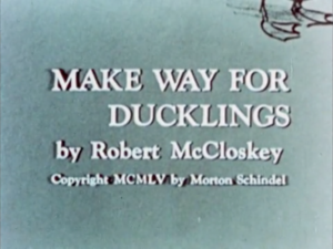 Make Way For Ducklings titlecard