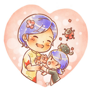 Marinette and Sabine