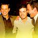 Matt Damon with Casey and Ben Affleck - casey-affleck icon