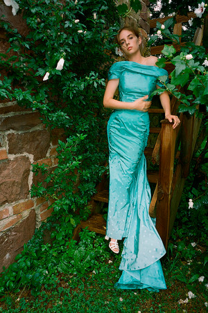 Maya Hawke ~ Zac Posen's Spring/Summer 2019 Lookbook